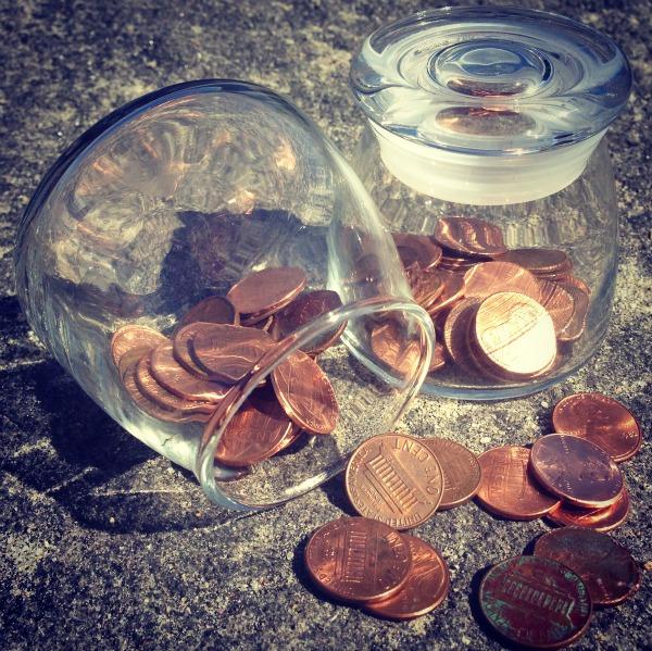 lucky pennies