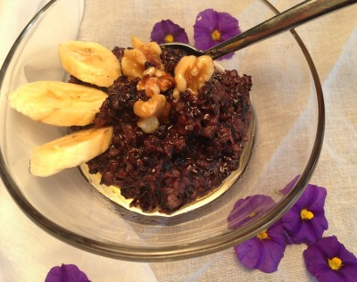 black rice pudding recipe | Dianna Bonny Photography