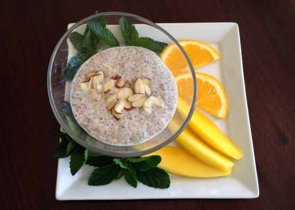 chia seed pudding | Dianna Bonny Photography
