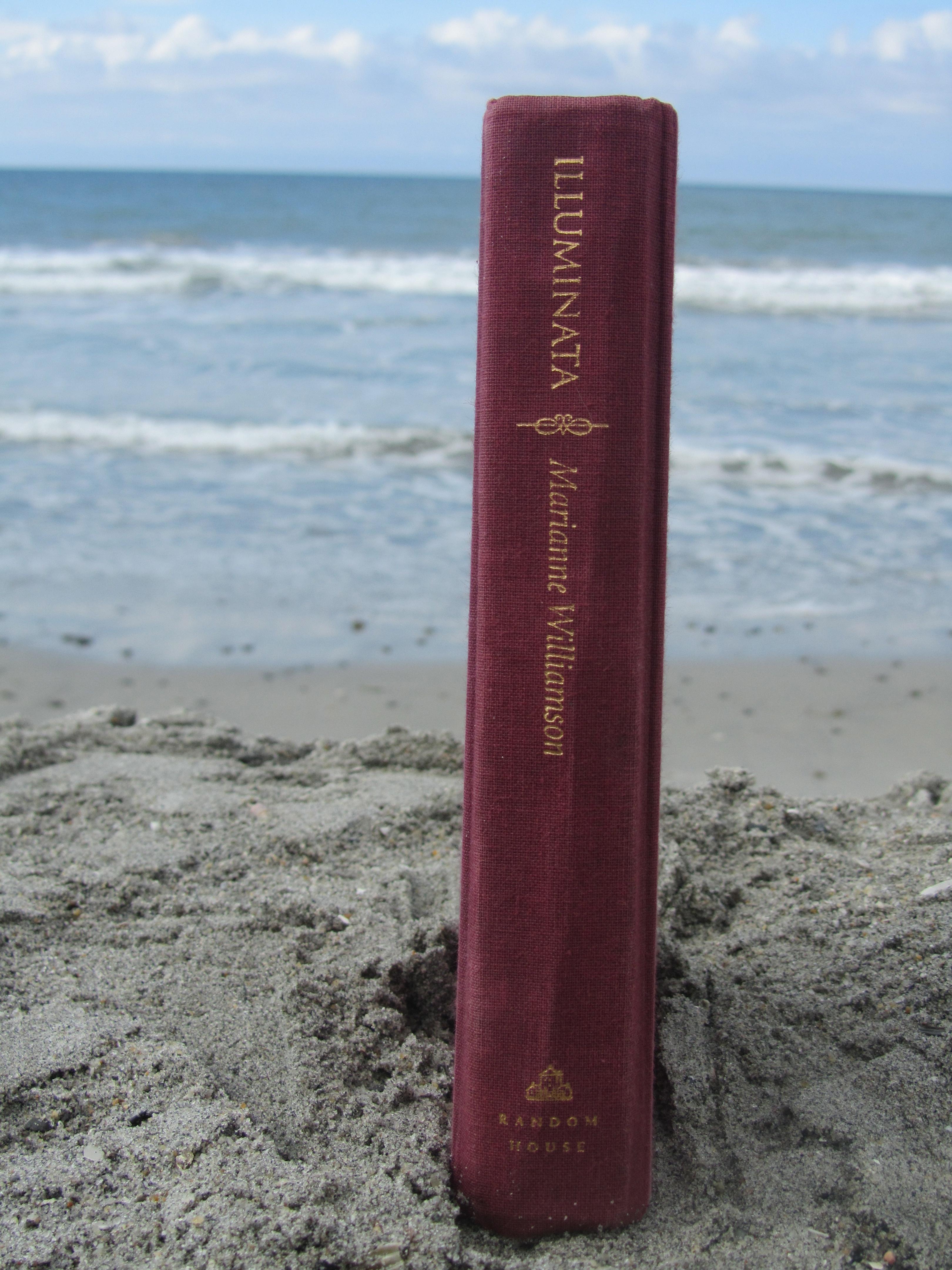 prayer on the beach
