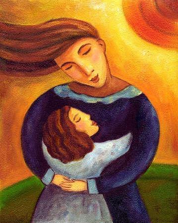 The Hug Painting