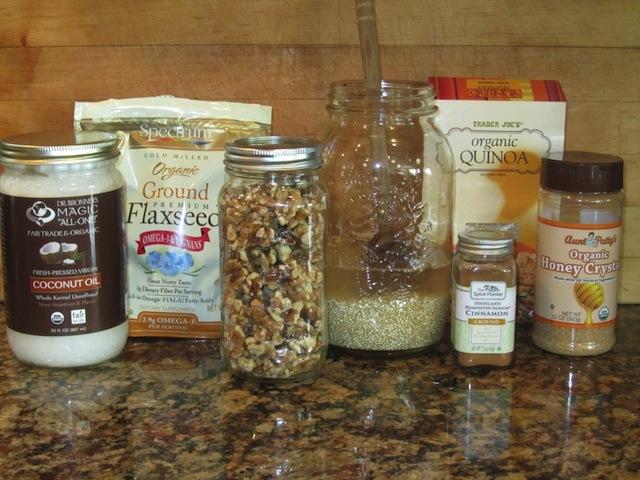 coconut quinoa recipe ingredients