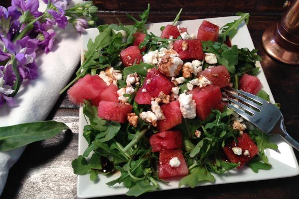 summer watermelon salad   Dianna Bonny Photography