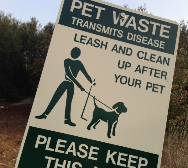 clean up after your pet sign | Dianna Bonny Photography