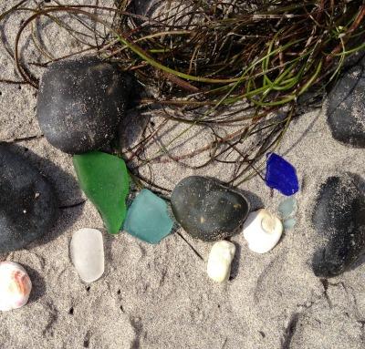 beach glass | Dianna Bonny Photography