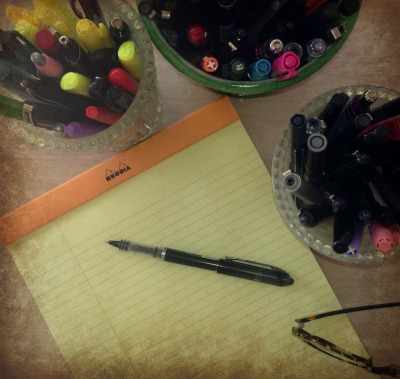 pad and pen | Dianna Bonny Photography