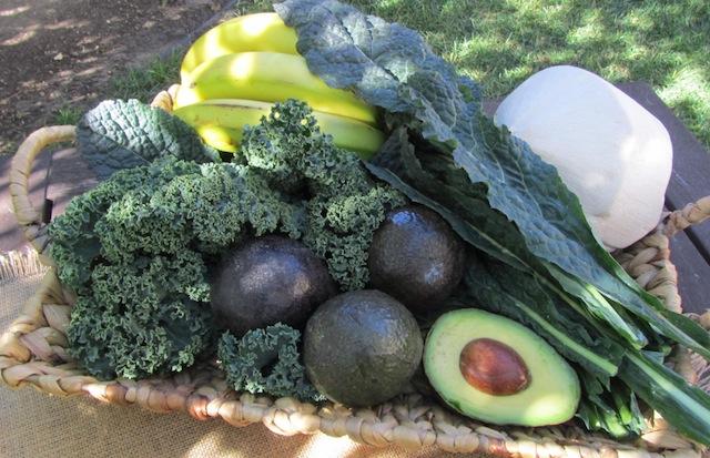 green smoothie recipe produce | Dianna Bonny Photography