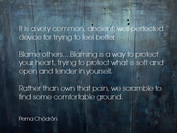 blame quote | Dianna Bonny Photography