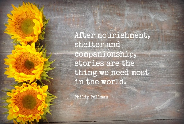 Philip Pullman photo quote | Dianna Bonny Photography
