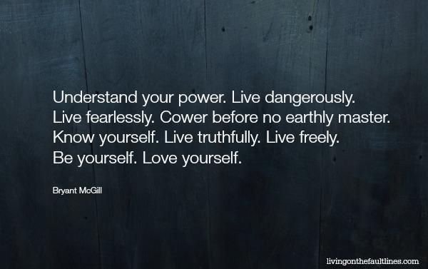 Bryant McGill quote photo