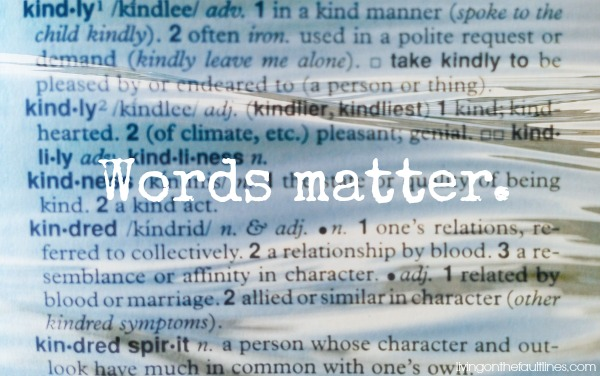 words matter | Dianna Bonny Photography